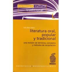 Literatura oral, popular y...